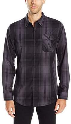 Burnside Men's Choice Longe Sleeve Button Down Woven Shirt