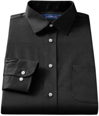 Croft & Barrow Men's Slim-Fit Easy Care Spread-Collar Dress Shirt