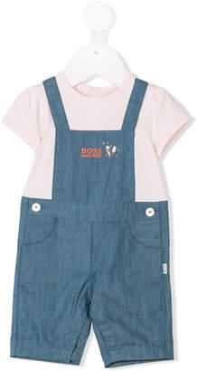 Boss Kids short-sleeve jumpsuit