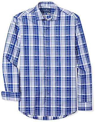 Buttoned Down Men's Classic Fit Supima Cotton Spread-Collar Sport Shirt