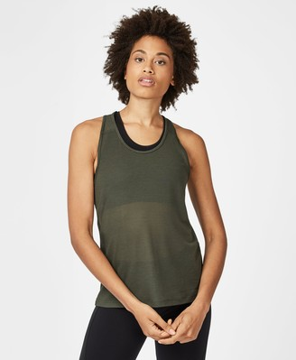 Sweaty Betty Compound Mesh Workout Tank