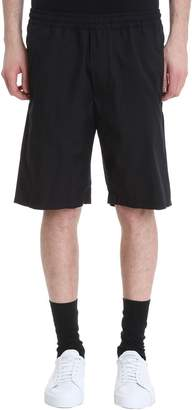 Mauro Grifoni Black Cotton Shorts