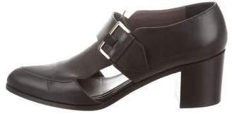 Jason Wu Cutout Leather Loafers