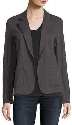 Neiman Marcus Majestic Paris for Cotton/Cashmere Knit Blazer