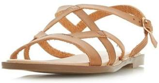 Dorothy Perkins Womens *Head Over Heels by Dune Tan 'Lima' Ladies Flat Sandals