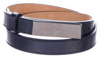 Giorgio Armani Leather Waist Belt