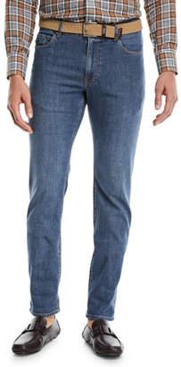 Peter Millar Men's The Jean Stretch-Denim Jeans