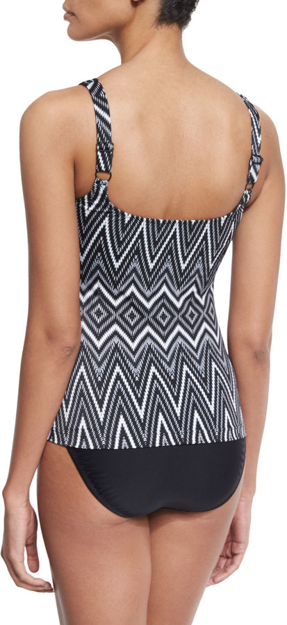 Gottex Infinity Printed Tankini Two-Piece Swimsuit Set 3