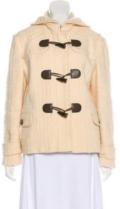 Burberry Wool Hooded Jacket wool Wool Hooded Jacket