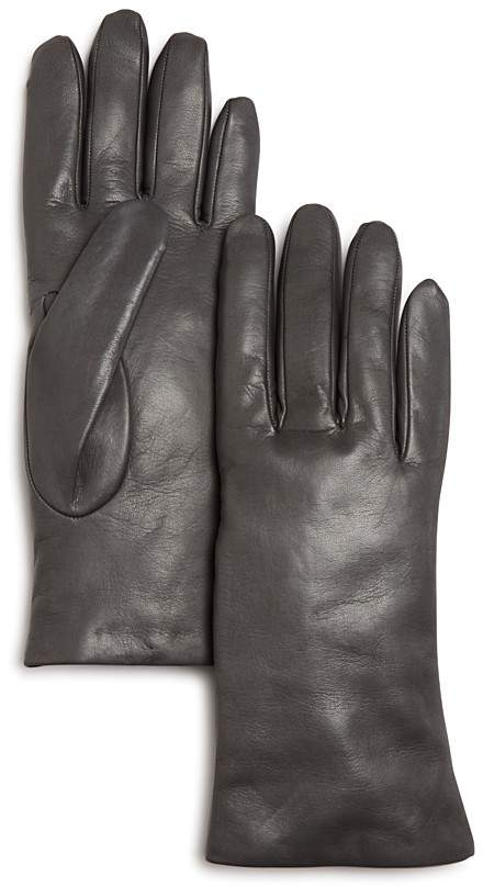 Bloomingdale's Bloomingdale's Cashmere-Lined Leather Gloves - 100% Exclusive