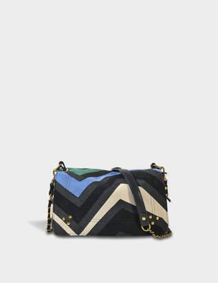 Jerome Dreyfuss Patchwork Bobi Bag in Multicolour Calfskin