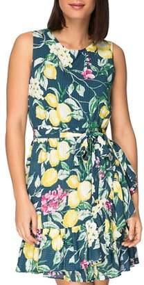 Bobeau B Collection by Amina Sleeveless Floral-Print Dress
