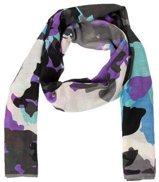 Diane von Furstenberg Multicolored Printed Scarf $65 thestylecure.com