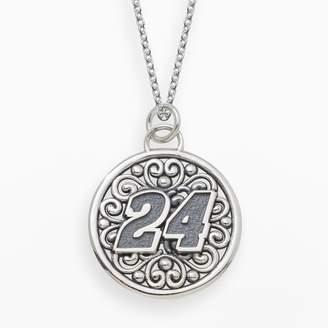"Insignia Collection NASCAR Jeff Gordon Sterling Silver ""24"" Pendant"
