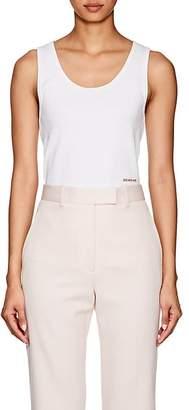 Calvin Klein Women's Logo Rib-Knit Cotton Tank