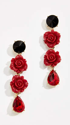 Stella + Ruby Rose Drop Earrings
