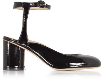 6d0621d25a6 Free Shipping at Italist · Stuart Weitzman Shape Black Patent Leather Heel  Pumps