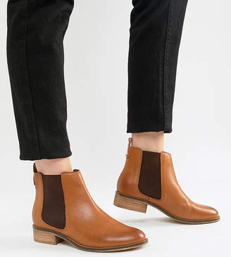 Carvela Leather Flat Chelsea Boots