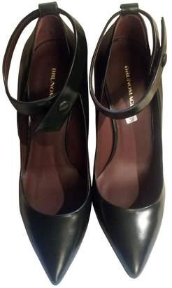 Bruno Magli Leather Heels