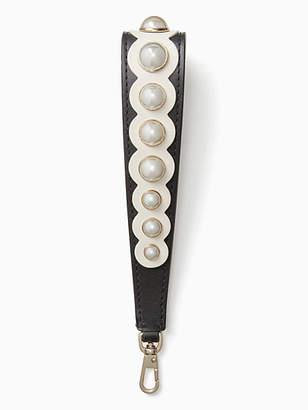 Kate Spade Make it mine pearl wristlet strap