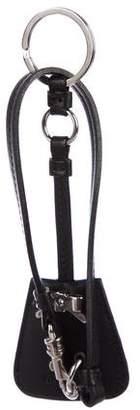 Miu Miu Leather Keychain