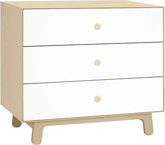 Oeuf Change Tables & Chests Merlin 3 Drawer Dresser with Sparrow Base, Birch