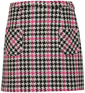 Moschino Patterned Mini Skirt
