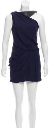 J. Mendel Silk Draped Dress