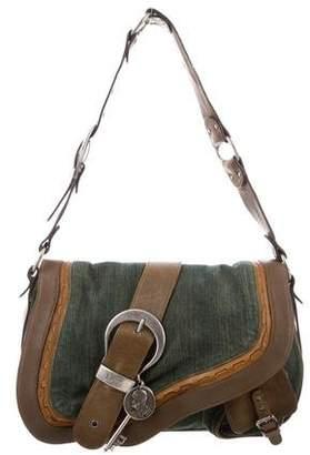 Christian Dior Denim Gaucho Bag