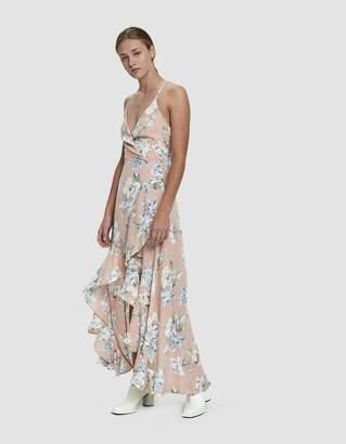 Farrow Aubree Hi-Low Maxi Dress