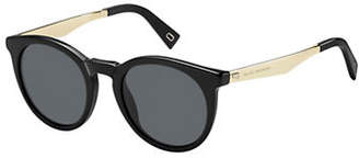 Marc Jacobs 204-S 47mm Round Sunglasses