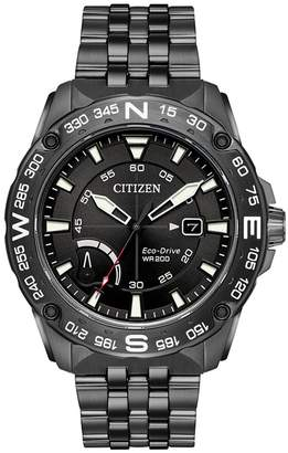 Citizen Men's Eco-Drive PRT Stainless Steel Band Watch, 44mm