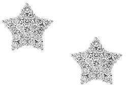 Bloomingdale's Diamond Star Stud Earrings in 14K White Gold, 0.35ct. t.w. - 100% Exclusive