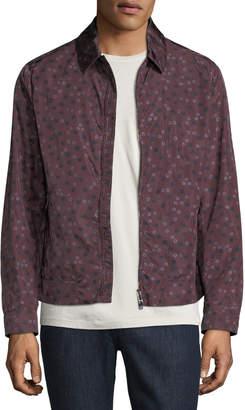 Valentino Star-Print Rain Jacket