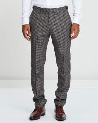 Reiss Tripper Tonal Check Suit Trousers