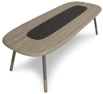 "Huppé Koval 102"" Table with Stone"