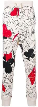 Vivienne Westwood print skinny sweat trousers