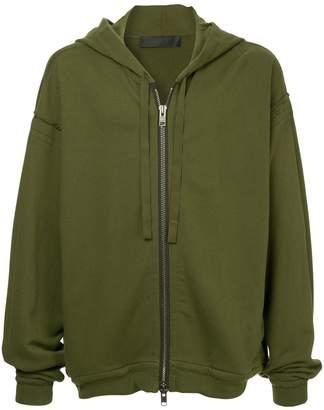 Haider Ackermann oversized zipped-up hoodie