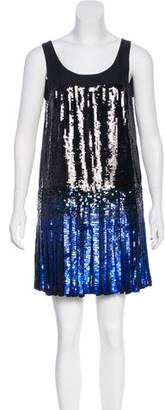 Anna Sui Sequin Embellished Mini Dress