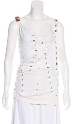 Dolce & Gabbana Sleeveless Button Top
