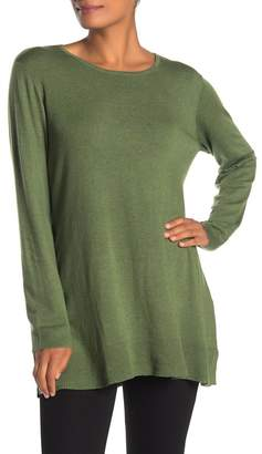 Eileen Fisher Solid Tunic Sweater