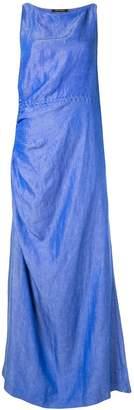 Wynn Hamlyn Lucia gathered waist dress