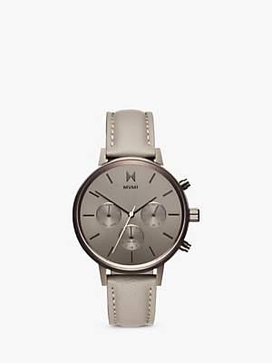 MVMT Women's Nova Chronograph Leather Strap Watch