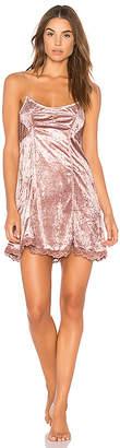 Free People Cheeky Velvet Slip Dress