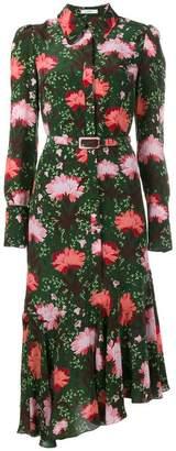 Erdem floral print shirt dress