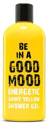 Be In A Good Mood BE IN A GOOD MOOD Energetic Shiny Yellow Shower Gel