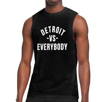 78e1b816 Victoria's Secret JKSI PKJG Detroit Everybody Men's Sleeveless T Shirts  Fitness Vest Gym Tank Top Shirt