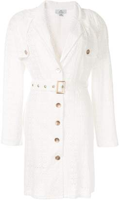 We Are Kindred Lulu embroidered trench coat