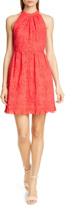 Ted Baker Lorene Embroidered Skater Minidress