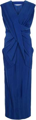 Aq/Aq Olivia Pleated Maxi Dress